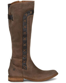 Born Women's Albi Western Boots - Round Toe, Natural, hi-res