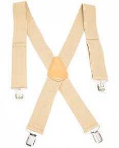 Hawx Men's Tan Work Suspenders, Tan, hi-res