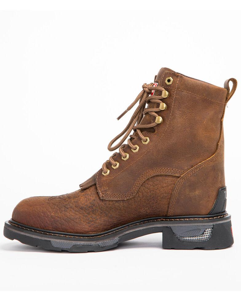 Tony Lama Men's Sierra Badlands Waterproof Work Boots, Brown, hi-res