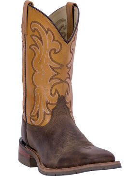 "Dan Post Men's 11"" Ferrier Western Work Boots, Tan, hi-res"