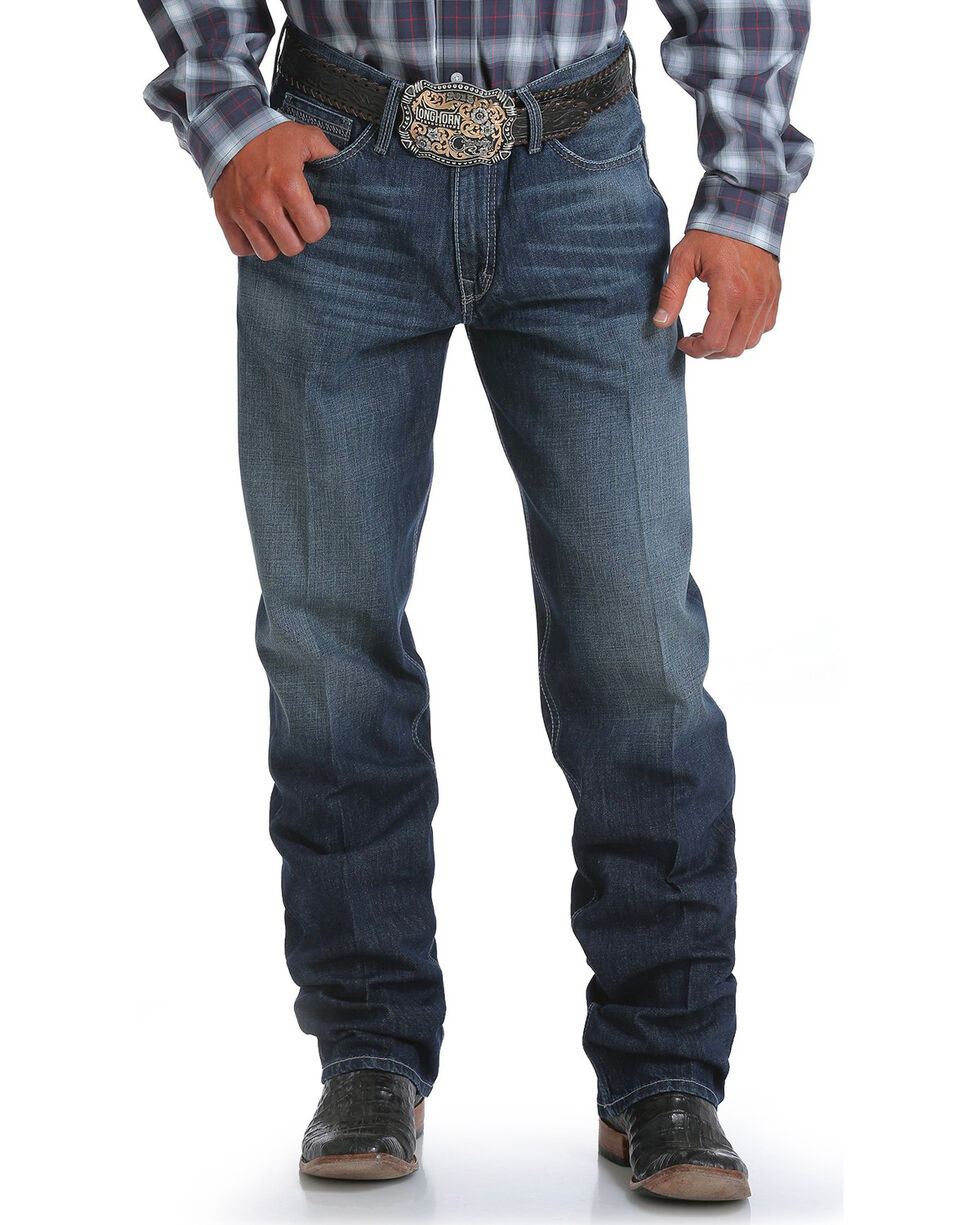 CInch Men's Sawyer Loose Fit September Jeans - Boot Cut , Indigo, hi-res
