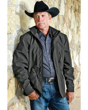 STS Ranchwear Men's Brazos Jacket - 2XL-3XL, Gunmetal, hi-res