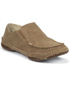Tony Lama Men's 3R Casual Canvas Shoes, Wheat, hi-res