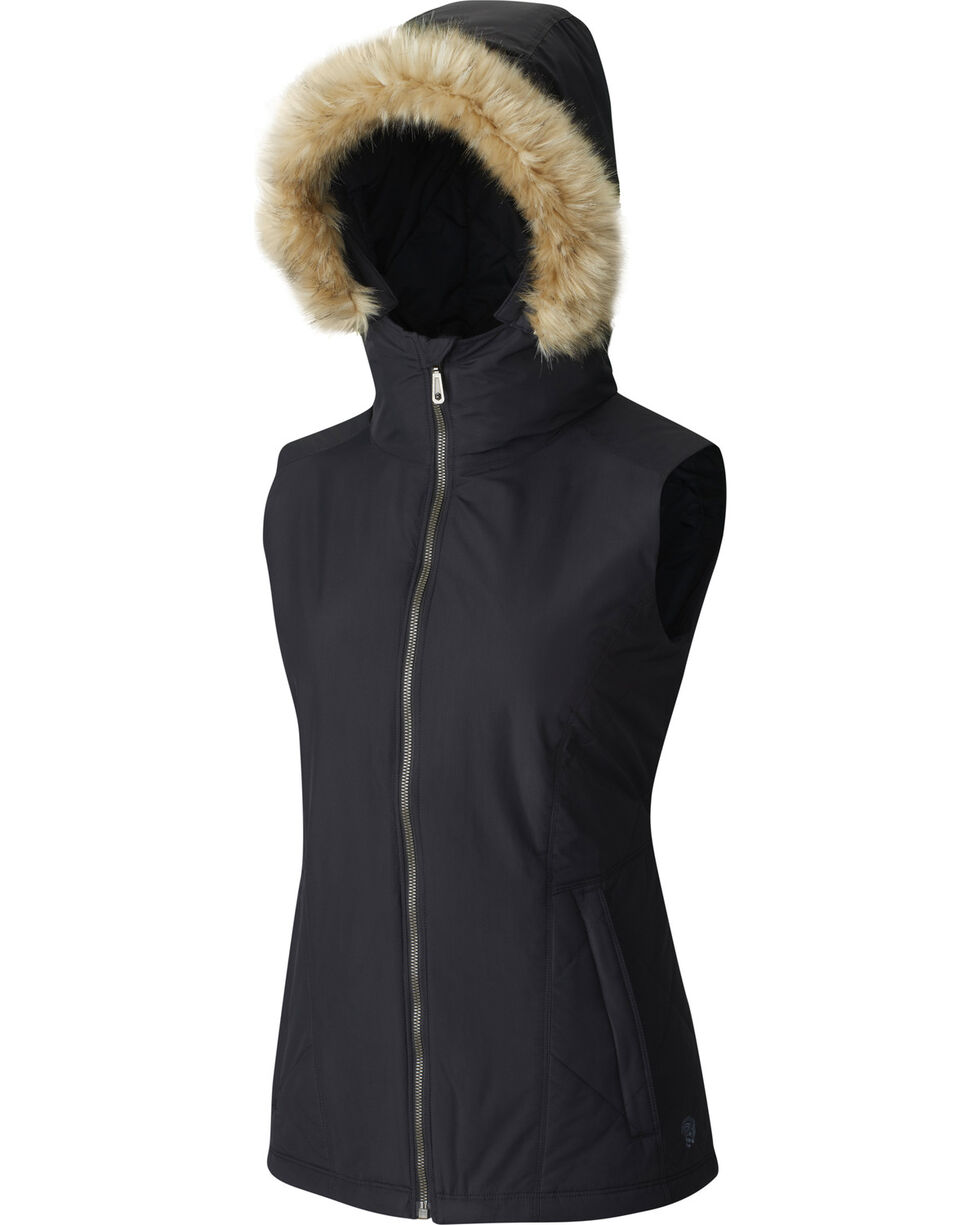 Mountain Hardwear Women's Potrero Vest, Black, hi-res