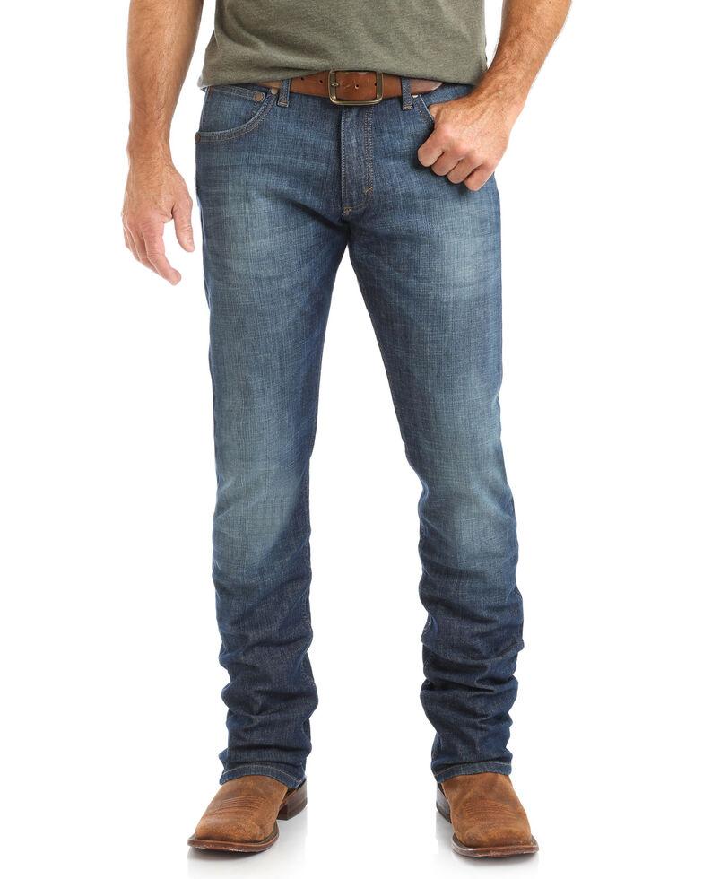 Wrangler Retro Men's Walkerville Skinny Stretch Bootcut Jeans, Blue, hi-res