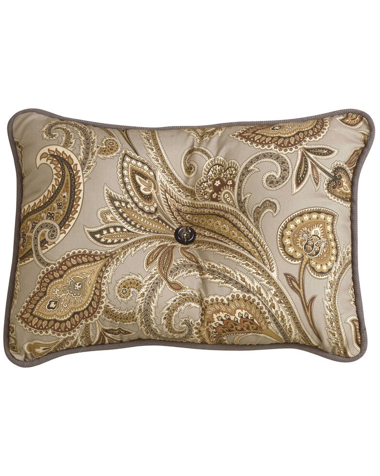HiEnd Accents Piedmont Paisley Pillow, Multi, hi-res