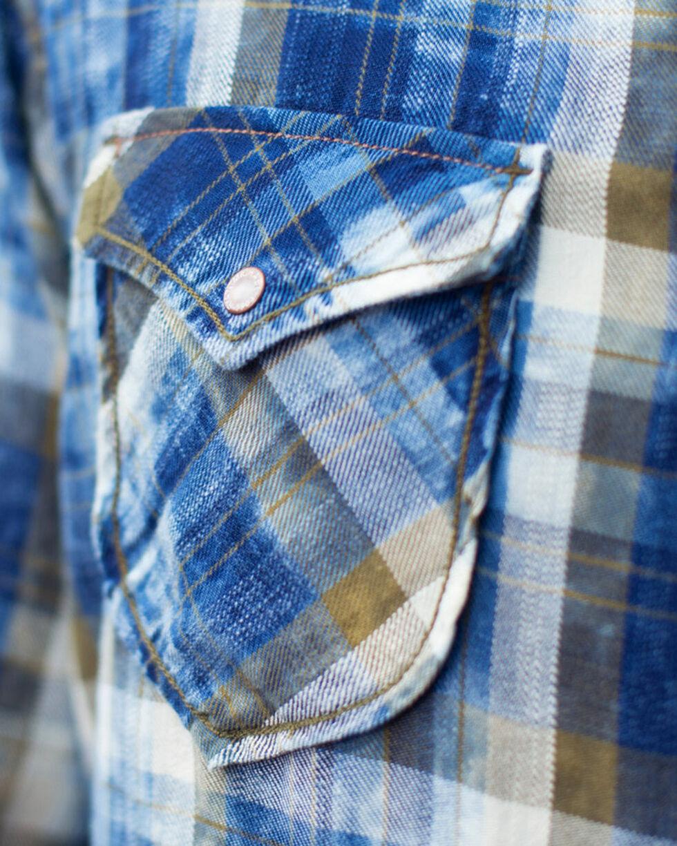 Ryan Michael Men's Moss Plaid Long Sleeve Shirt , Moss Green, hi-res