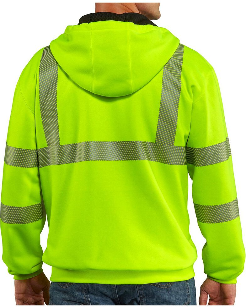 Carhartt High-Visibility Class 3 Thermal Lined Jacket, Lime, hi-res