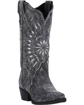Laredo Women's Starburst Western Boots, Black, hi-res