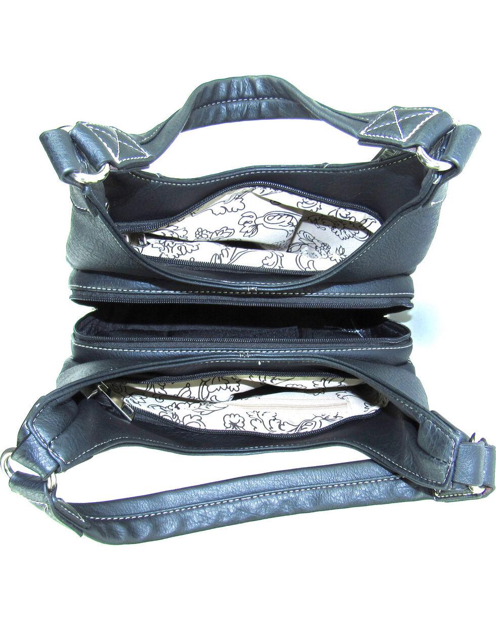 Savana Women's Fierce Conceal Carry Snake and Stud Handbag , , hi-res