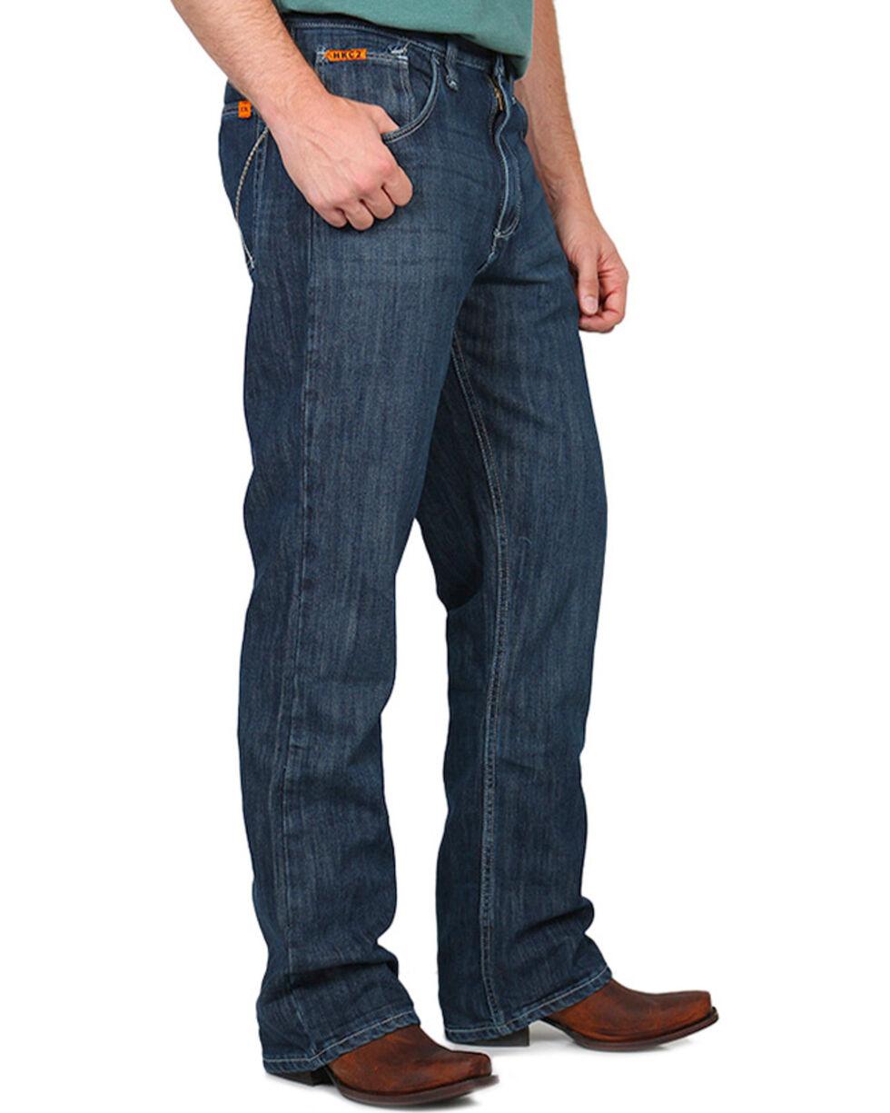 Wrangler 20X Men's Flame Resistant Vintage Boot Cut Jeans, Denim, hi-res