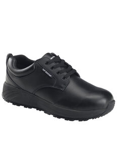 Nautilus Men's Skidbuster Lace-Up Work Shoes - Soft Toe, Black, hi-res