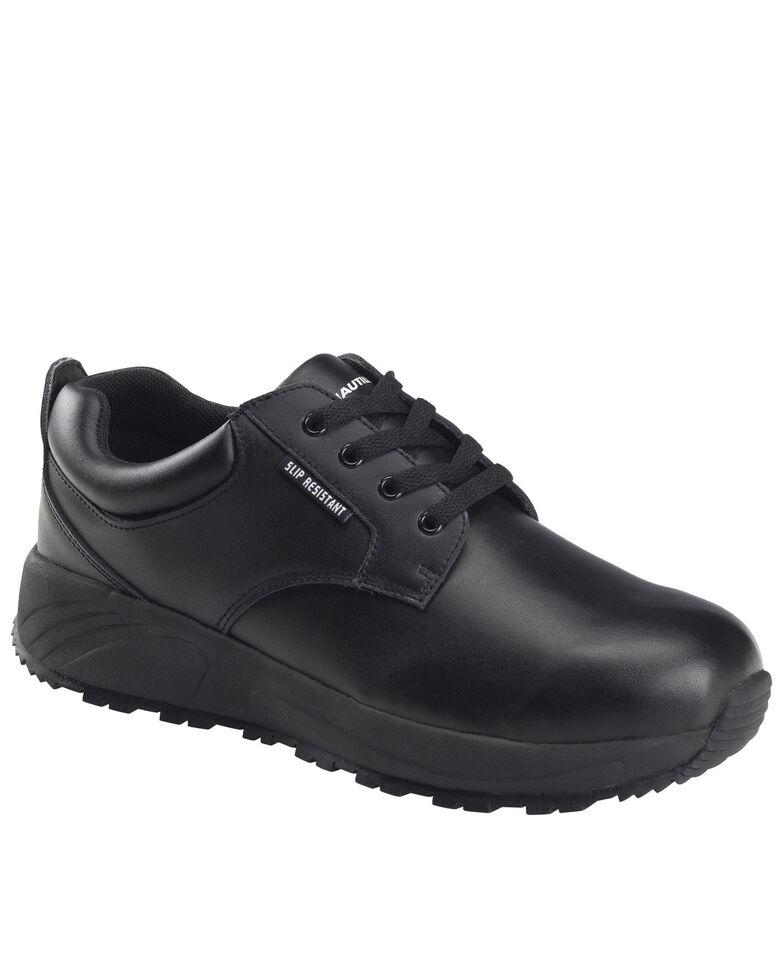 Nautilus Men's Skidbuster Lace-Up Work Shoes - Soft Toe, Black, hi-res