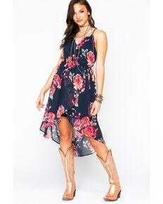 177741b11bf Shyanne Women s Floral Chiffon Hi-Low Dress