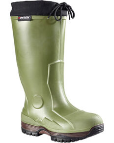 Baffin Men's Forest Green Ice Bear Boots - Round Toe , Forest Green, hi-res