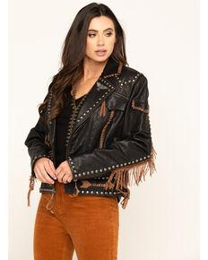 Double D Ranchwear Women's Black Rainbird Jacket, Black, hi-res