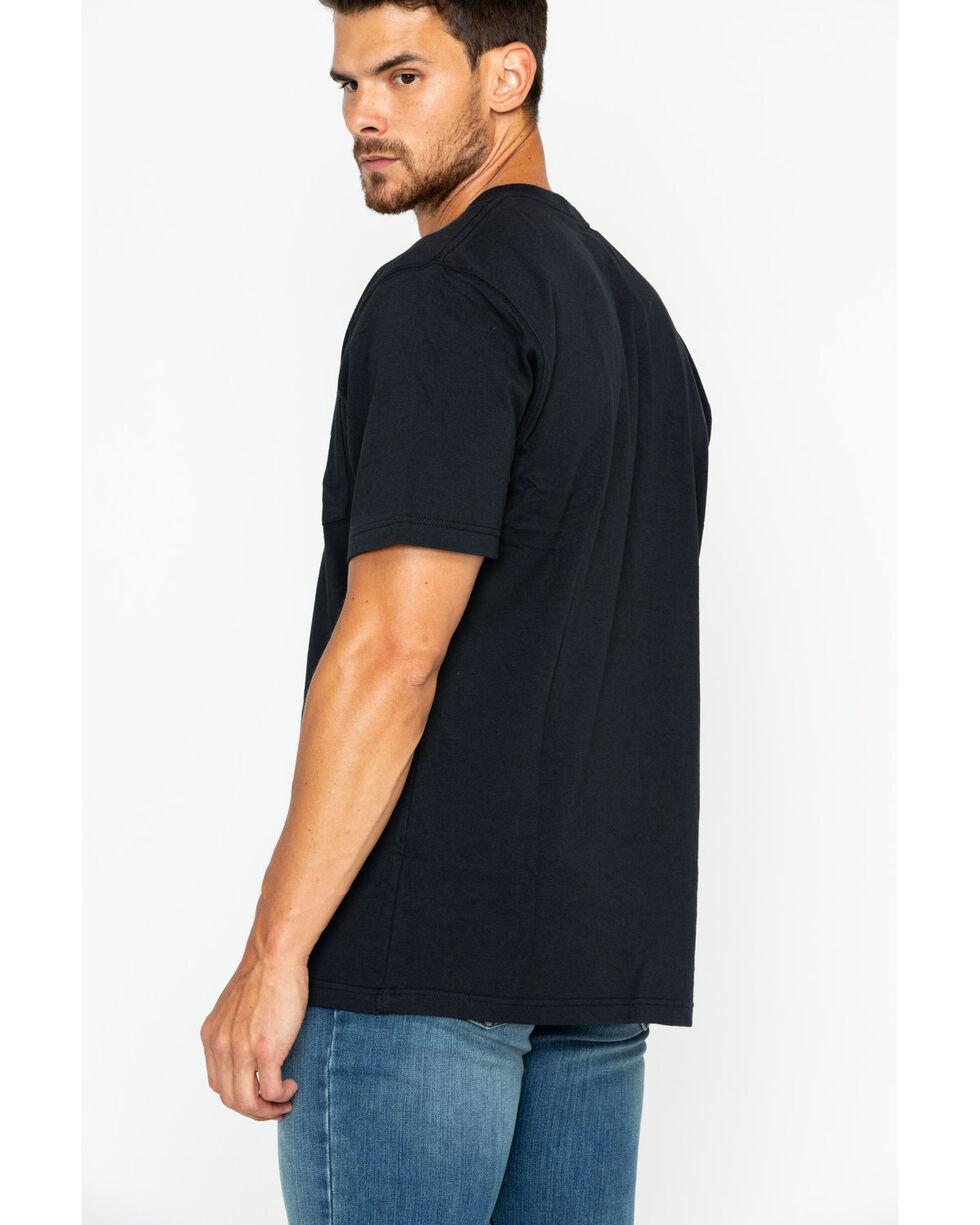 Carhartt Short Sleeve Pocket Work T-Shirt, Black, hi-res