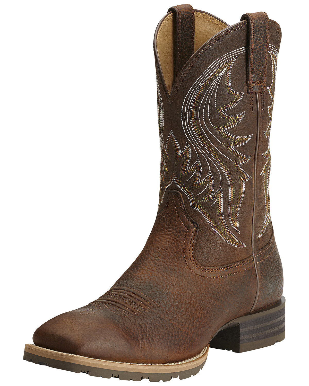 Hybrid Rancher Western Boots