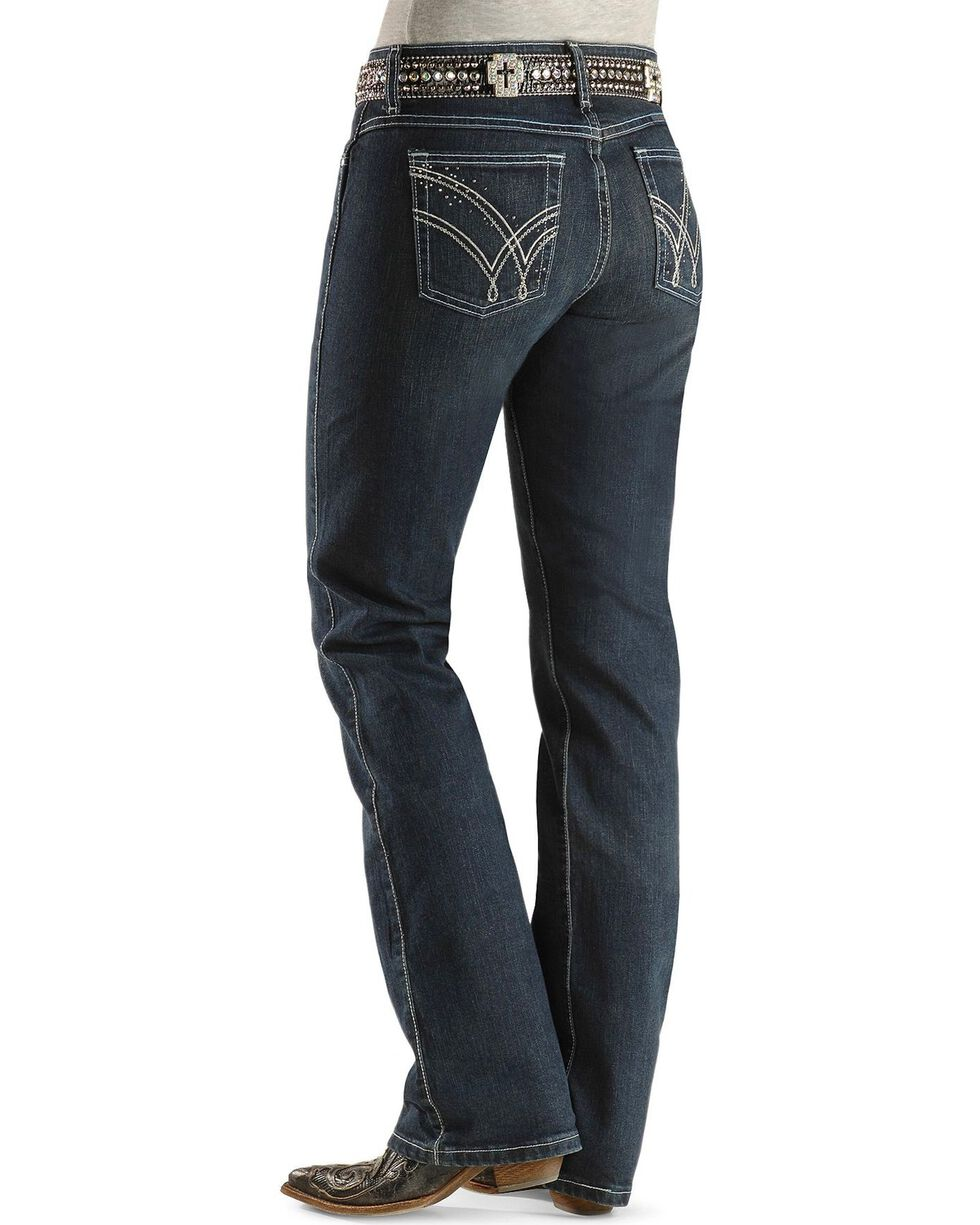 Wrangler Women's Ultimate Riding Q-Baby Jeans, Denim, hi-res