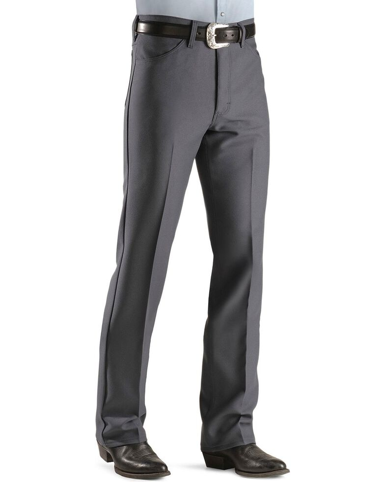 Wrangler Wrancher Dress Jeans - Big, Charcoal Grey, hi-res