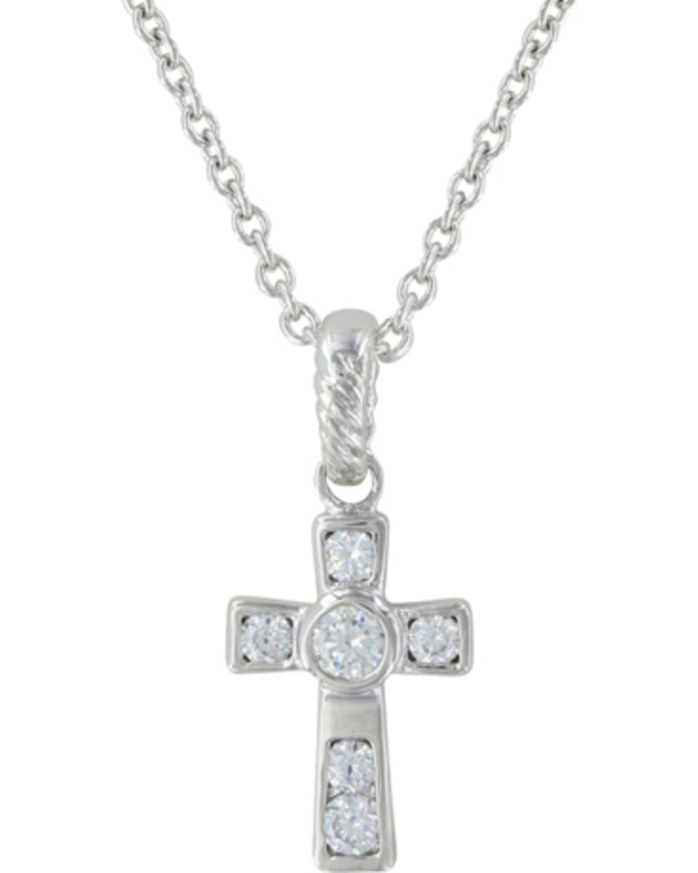 Montana Silversmiths A Mark of Faith Necklace, Silver, hi-res