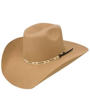 Resistol Men's Tuff Hedeman Tempe 3x Wool Felt Cowboy Hat, Pecan, hi-res