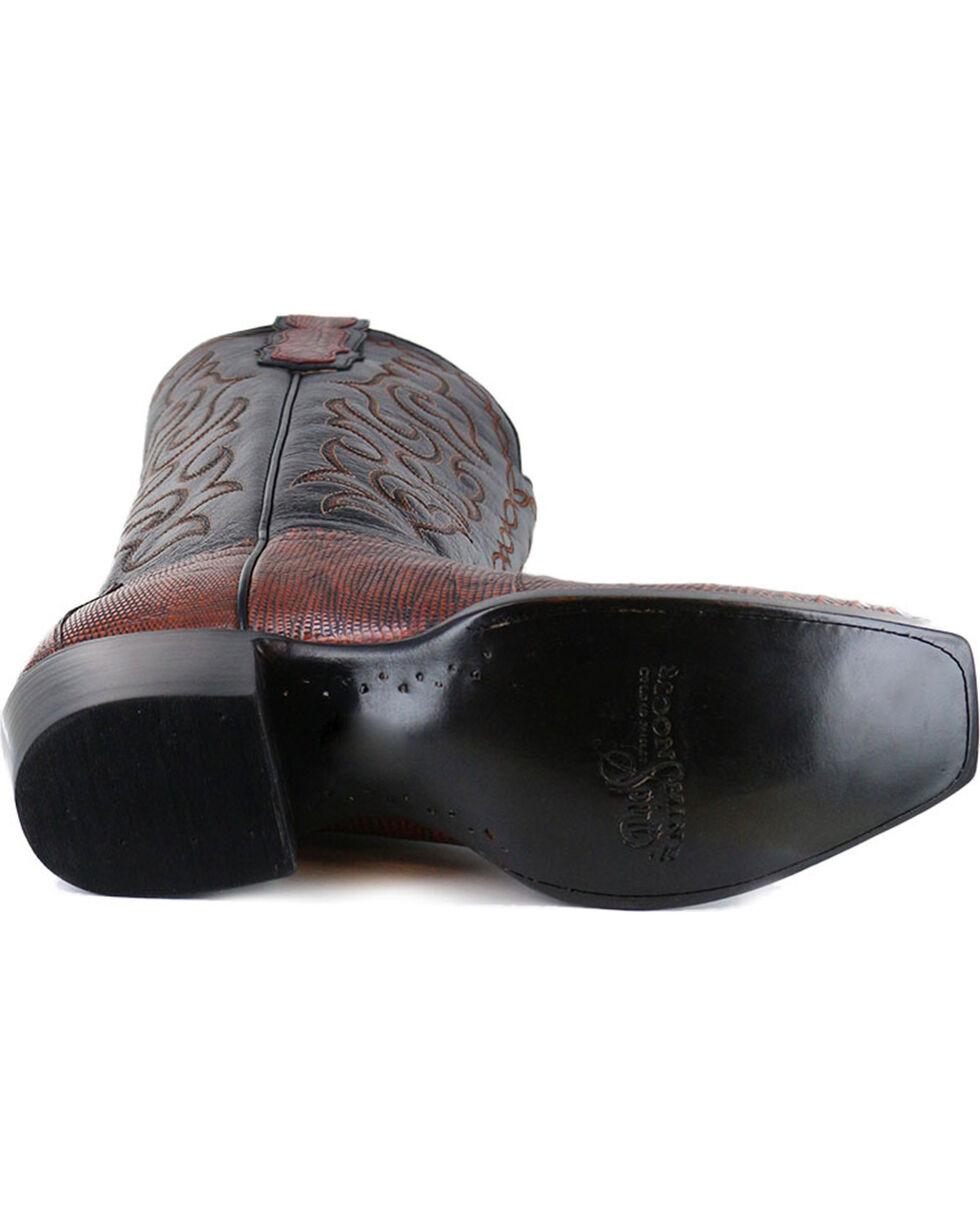 Moonshine Spirit® Men's Louisiana Lizard Exotic Boot, Brown, hi-res