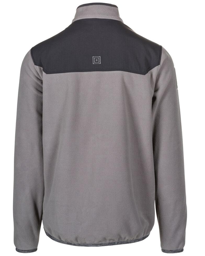 5.11 Tactical Men's Apollo Tech Fleece Work Pullover Shirt , Medium Grey, hi-res