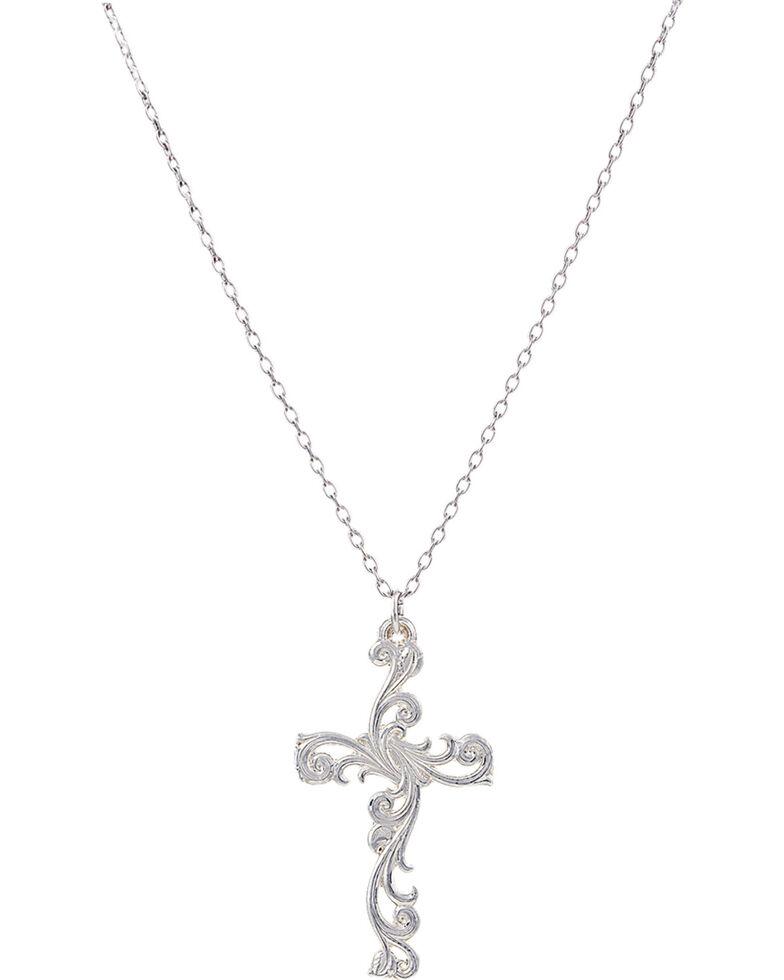montana silversmiths women 39 s filigree silver cross. Black Bedroom Furniture Sets. Home Design Ideas