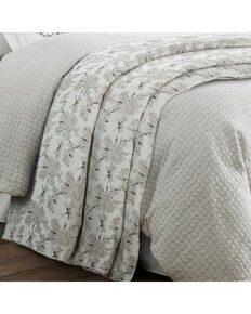 HiEnd Accents Wilshire Super Queen Duvet, Grey, hi-res