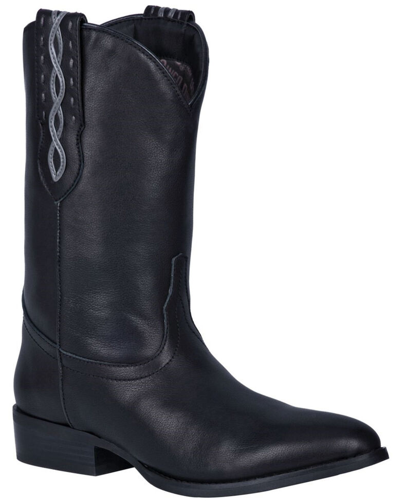 Dingo Men's Poncho Western Boots - Round Toe, Black, hi-res