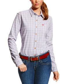 ae760bfe Ariat Women's FR Marion Plaid Work Shirt