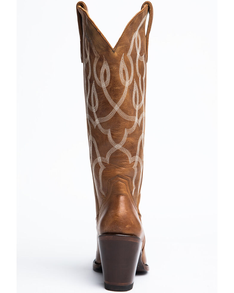 Idyllwind Women's Revenge Western Boots - Round Toe, Tan, hi-res