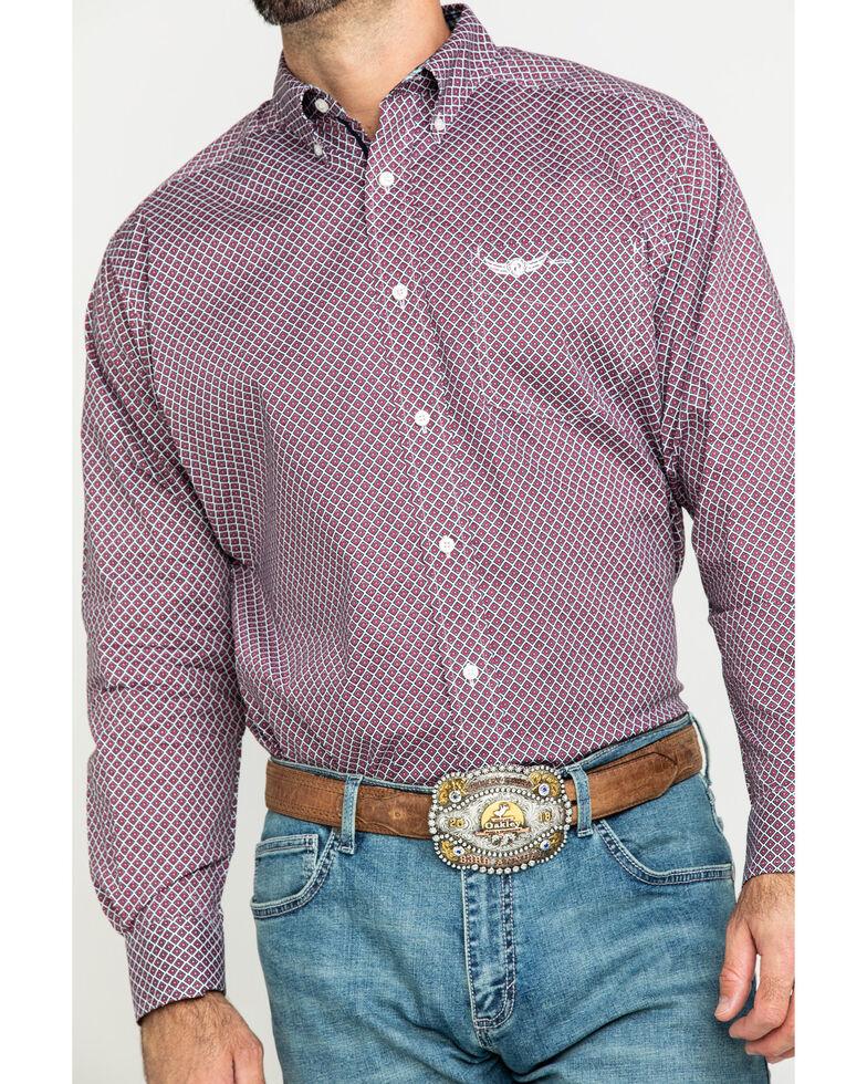 Ariat Men's Relentless Robust Stretch Geo Print Long Sleeve Western Shirt , Multi, hi-res