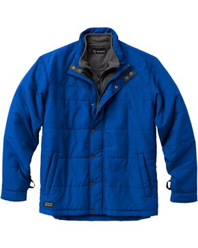 Dri Duck Men's Traverse Polyester Jacket - 3X & 4X, Blue, hi-res