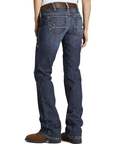 Ariat Women's Mid Rise Flame Resistant Boot Cut Jeans, Denim, hi-res