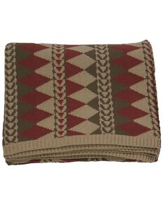 HiEnd Accents Wilderness Ridge Knitted Throw, Multi, hi-res