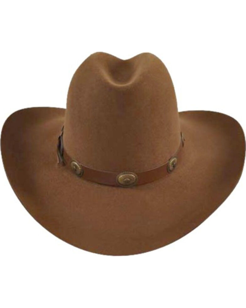 Bailey Western Tombstone Pecan Brown Hat  89ac9f5f171