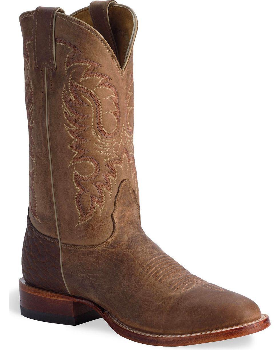 Nocona Men's Vintage Legacy Western Boots, Tan, hi-res