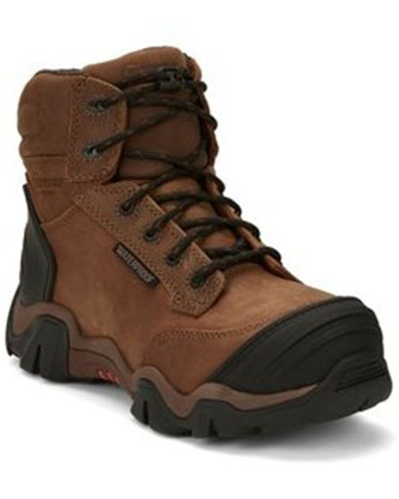 Chippewa Women's Cross Terrain Work Boots - Nano Composite Toe, Brown, hi-res