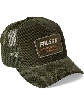 Filson Men's Moss Alcan Cord Mesh Cap, Moss Green, hi-res