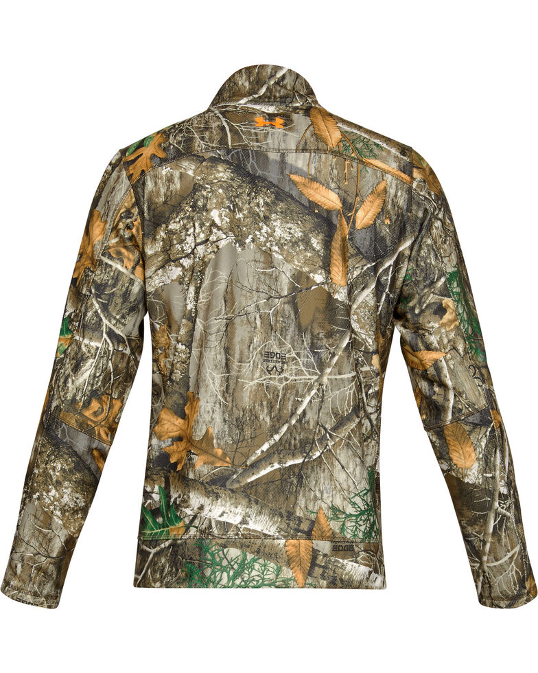 Under Armour Men's Camo Off Grip 1/4 Zip Pullover , Camouflage, hi-res