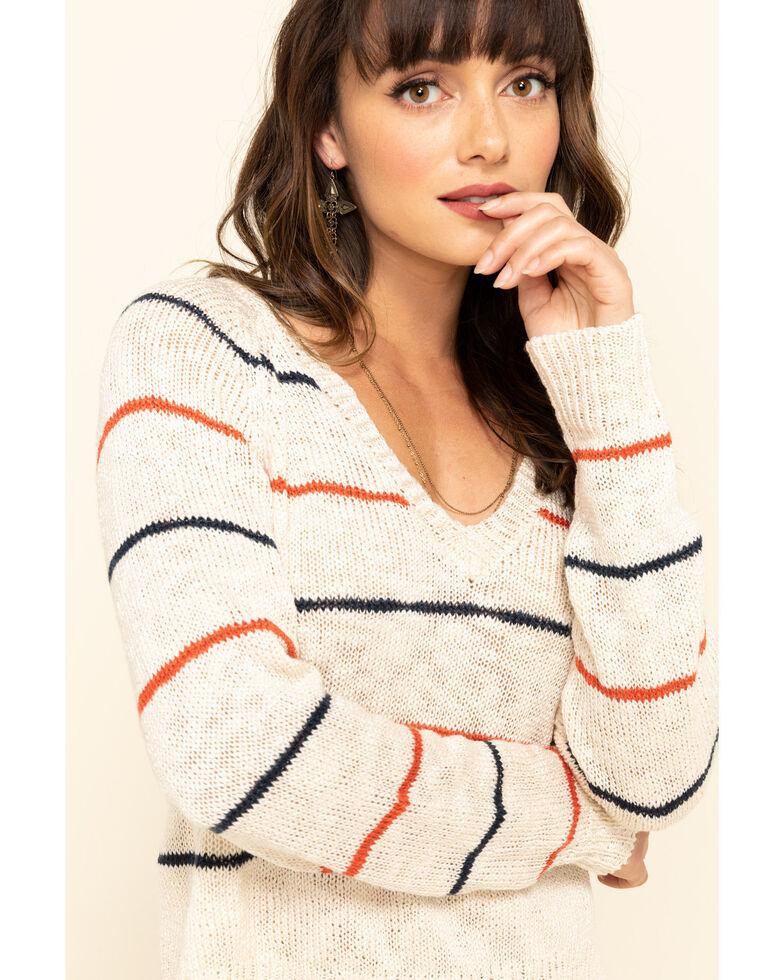 Rag Poets Women's Sicily Sweater, Ivory, hi-res