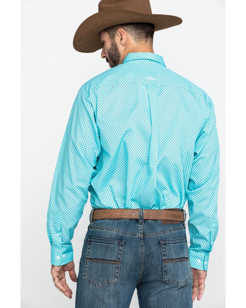 Ariat Men's Wrinkle Free Pasadena Geo Print Long Sleeve Western Shirt , , hi-res