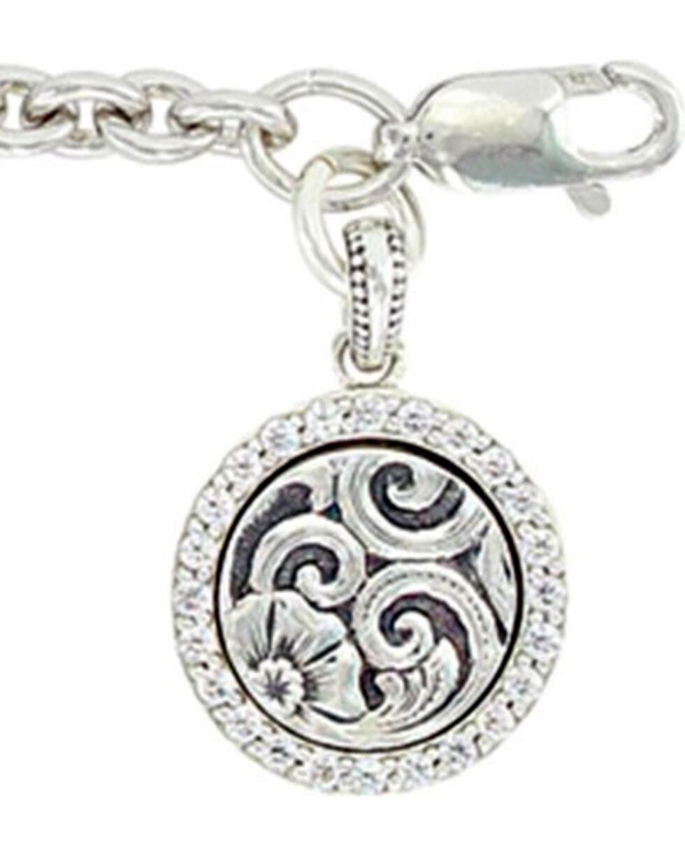 Sterling Lane Women's Daisy Vignette Charm Bracelet , Silver, hi-res