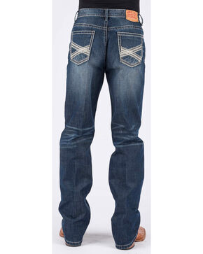 Stetson Men's 1520 Standard Fit Jeans - Straight Leg, Blue, hi-res