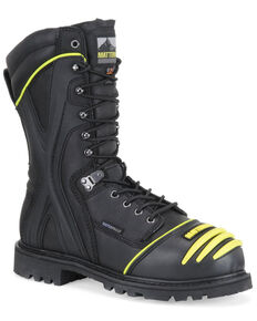 Matterhorn Men's Waterproof Mining Work Boots - Steel Toe, Black, hi-res