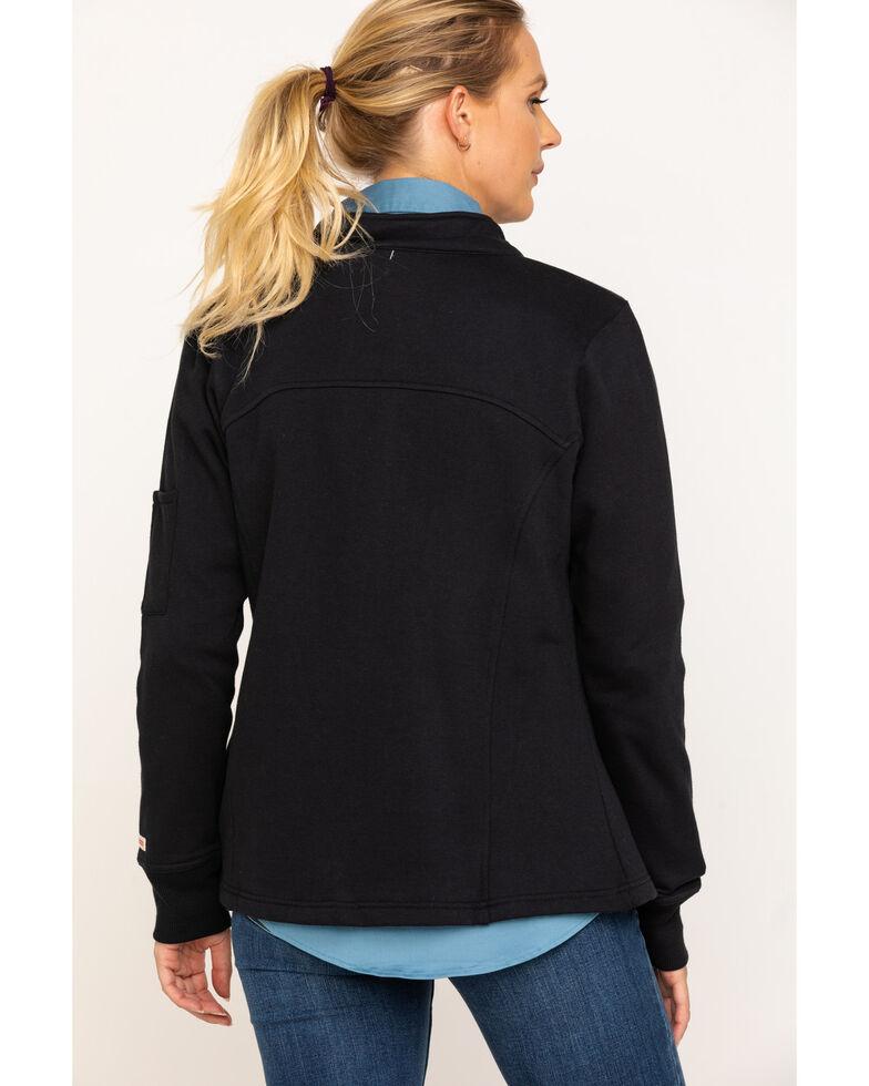 Wrangler Riggs Women's Black Zip-Up Work Jacket, Black, hi-res