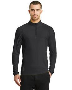 Ogio Nexus Men's Black Endurance Reflective 1/4 Zip Pullover Sweatshirt, Black, hi-res