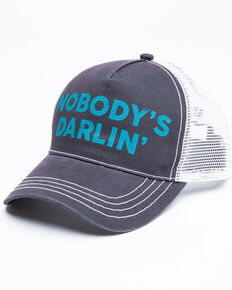 Idyllwind Women's Nobody's Darlin' Ball Cap , Grey, hi-res